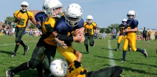 Sports health professionals say that restricting activity too much after a concussion can actually make symptoms worse