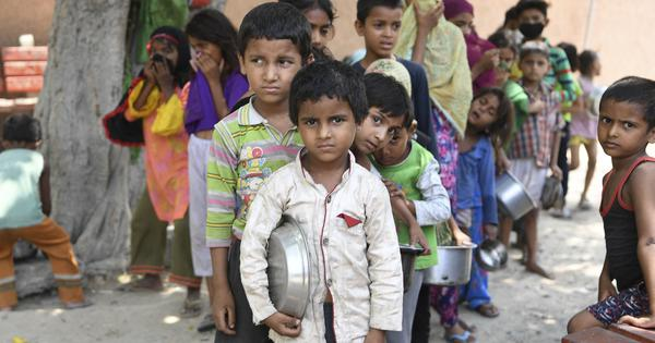 India's food crisis has spread during the pandemic - especially for women and children