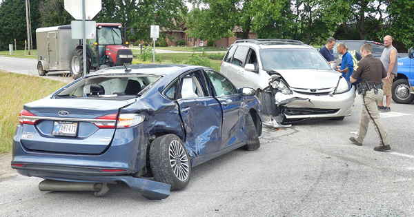 Girl, 8, injured in an accident on Monday