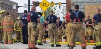 Local firefighters use abandoned building for training exercises |  Local news
