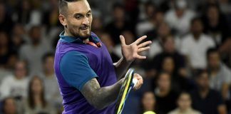 Kyrgios is ready to relax when he returns to court at Wimbledon