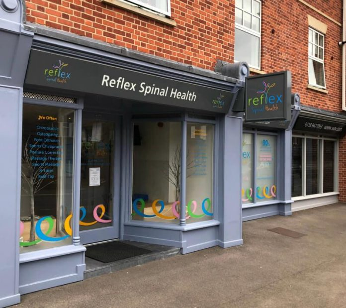 Osteopath Chiropractor is celebrating its 5th anniversary in the Reading, Berkshire location