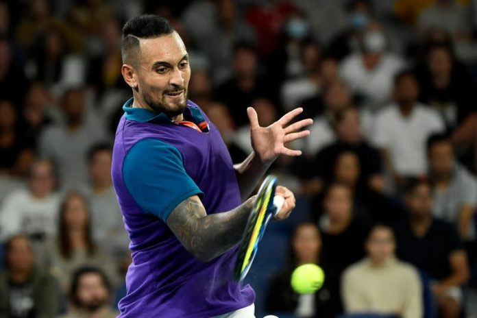 Tennis Kyrgios is ready to relax when he returns to the court at Wimbledon