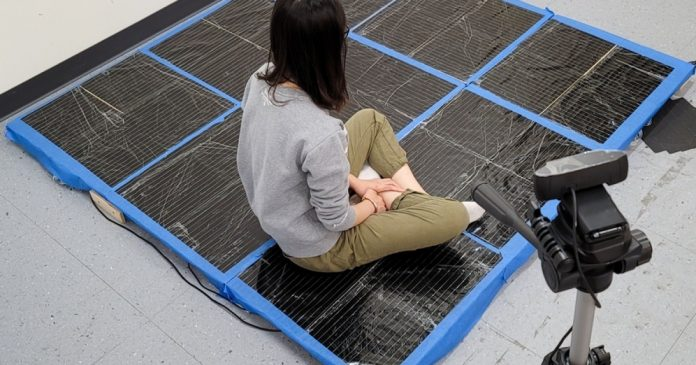 Smart Carpet tracks your movements for better training or play