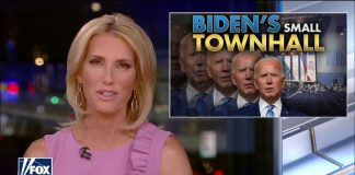 """Ingraham: Biden's CNN City Hall was a """"pathetic exercise of flattery and futility"""""""