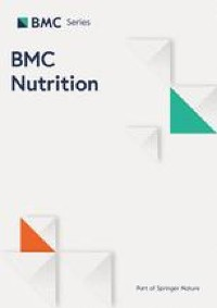 Dietary intake and food behaviours of Senegalese adolescent girls | BMC Nutrition