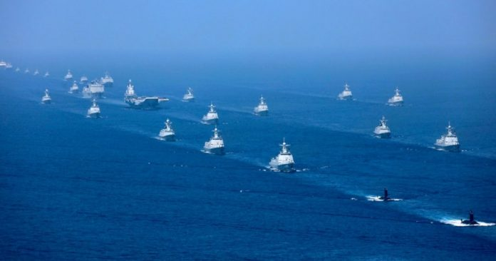 China conducts naval exercise in the East China Sea |  Taiwan News