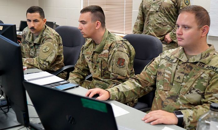 The North Dakota National Guard is participating in a cyber exercise