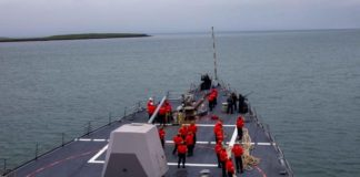"""The NATO submarine exercise """"Shark Hunt 21"""" begins in the North Atlantic"""