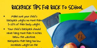 Tips on choosing the right backpack for your kids this school year