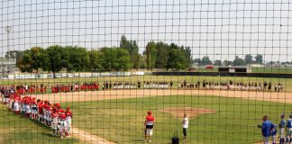 Community gatherings for kimberly baseball players with cancer