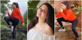 Bhagyashree does glutes and legs in a new video, says fitness first |  health