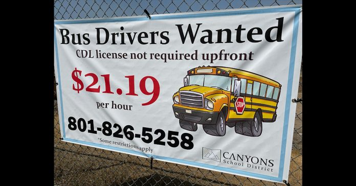Necessary school bus drivers, nutrition, supervisory staff needed for the coming school year