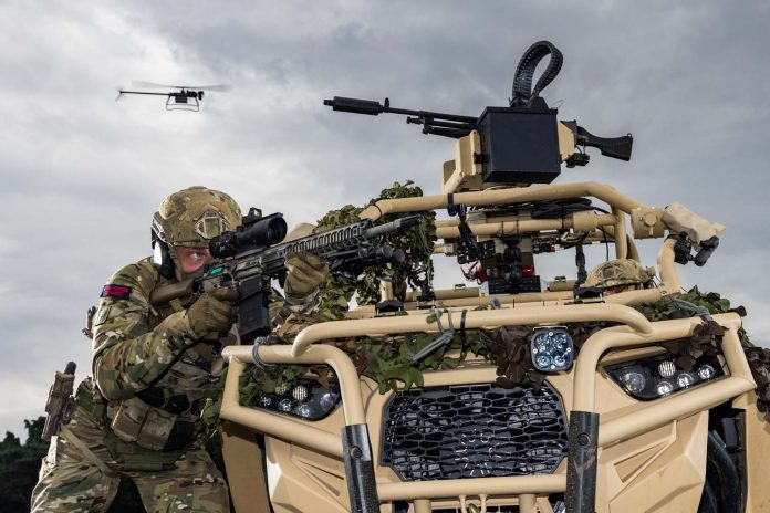 Swarms of drones give Royal Marines a boost in groundbreaking experimental exercises