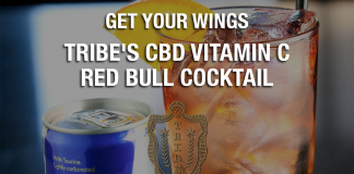 Get your wings on with Tribe's CBD Vitamin C Cocktail