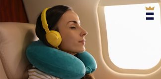 Are you planning a long flight?  Here are the best neck pillows (and other necessities) for your trip