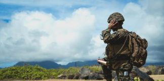 Stars and Stripes - Marines in Hawaii attempt advanced base operations on large-scale exercise 2021