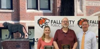 Falls City Honors Outstanding Teacher and Nutrition Director - RIVER COUNTRY
