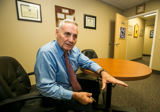 Hank Whittier, executive director of Veterans Helping Veterans, pictured in 2017, is concerned that officials making financial decisions may believe the dire hardship caused by the COVID-19 pandemic is over.