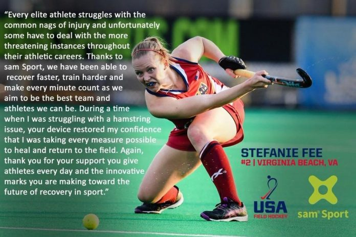 US women's field hockey team uses sustainable acoustic medicine to prepare for Olympic Games |  news