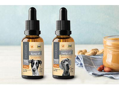 Extra strong organic full spectrum hemp CBD oil with peanut butter flavor |  Products