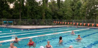 Water aerobics offers exercises with less stress on the body