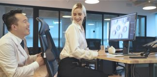 The posture correcting seat with Zero Gravity Cushions is ergonomic and gives you the feeling of weightlessness »Gadget Flow