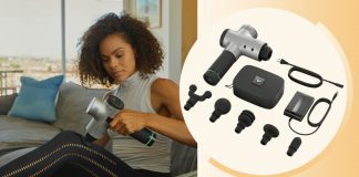 Why I try to use the Hyperice Hypervolt massage gun every day