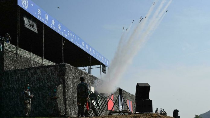China hosts first multinational peace exercise