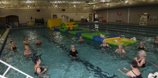 A LIFE OF WATER: Water aerobics popular at NSU to keep fit |  news
