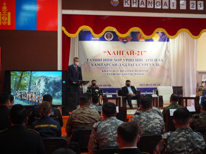 US and Mongolia successfully conduct Khangai-21 disaster response exercise