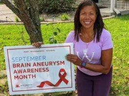 Lexington Survivor Makes a Difference During Brain Aneurysm Awareness Month