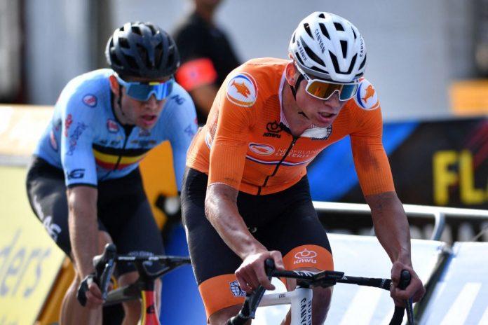 Mathieu van der Poel optimistic for Paris-Roubaix after a backache-free World Championship race