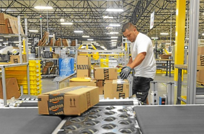 California's First State Sets Worker Quota Limits For Retailers Like Amazon - Press Telegram