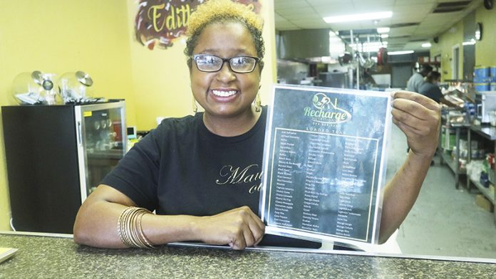 ON THE MENU - Recharge Nutrition Home at Edith's Place on Procter - Port Arthur News