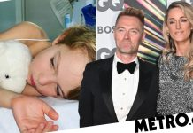 """Ronan Keating's son """"on the mend"""" after being hospitalized"""