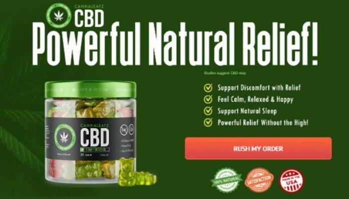 "Cannaleafz CBD Gummies Canada - [Reviews 2021] ""No.1 Canada"