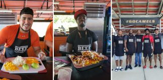 College football team makes beef diet a part of the game book