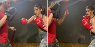 Kriti Sanon's and Her Latest Kickboxing Exercise Will Leave You Amazed
