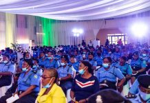 ISOH Foundation makes police officers aware of breast cancer, mental health