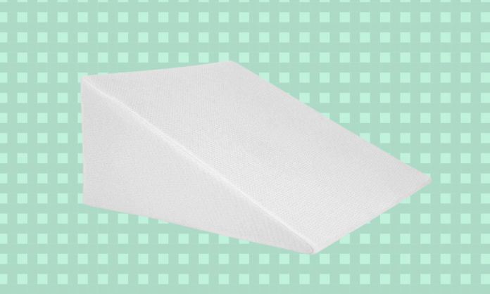 This top notch wedge pillow has nearly 5,000 perfect reviews on Amazon