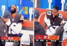 Odell Beckham Jr. was trending hot and cold on Sunday |  Baker Mayfield's freeze-out is over, but OBJ's dropsy case isn't