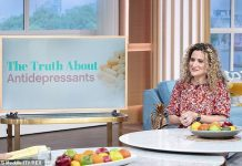 Dr.  Ellie Cannon showed up during the week that morning to tell Holly and Phil about their experiences using antidepressants and why there is no shame in seeking help
