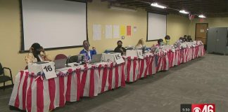 Fulton County Holds Election Practice |