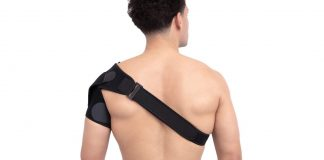 This shoulder brace will help you recover from pain
