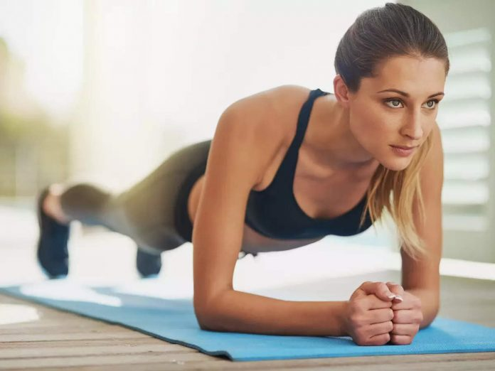How long do you have to hold the plank pose to see the result?