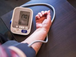 An exercise to reduce high blood pressure instantly