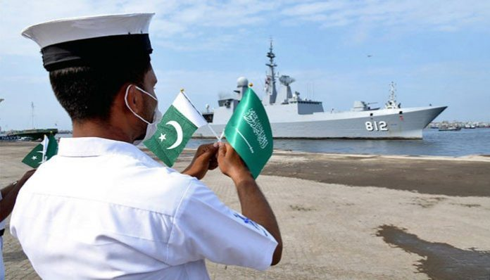 Joint exercise by Pakistani, Royal Saudi Navy begins