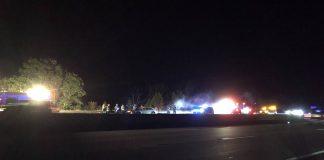State Police Cruiser hit Pike in Weston - Boston 25 News