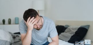 Why are migraines less common in men?